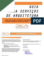 Guia de Serviços de Arquitetura
