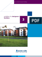 Guideline for Designers Builders Booklet 3 for Gas Piping in Buildings