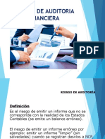 Riesgos de Auditoria Financiera