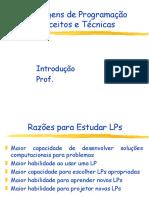 Slides - Cap. 1 - Linguagens de Programação - Conceitos e Técnicas- VAREJAO, FLAVIO MIGUEL