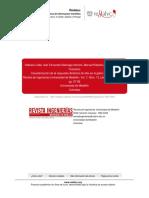 Caracterización de La Respuesta Dinámica de Sitio en El Gabro de Medellín