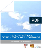 ASPECTOS POLÍTICOS DEL DESARROLLO LOCAL