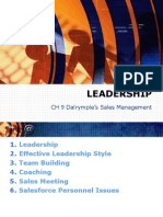 Leadership in Sales Management
