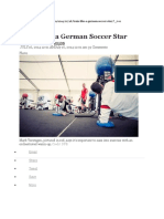 Train Like a Soccer German Star