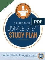 Dr. Kudraths USMLE Step 1 Study Plan 2