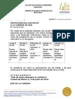 Invitacion Platica Informativa 2016
