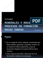 Minerales y Rocas 2 Rocas Igneas
