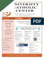 UCC Bulletin 8-07-2016