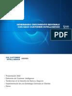SAS Customer Intelligence Para Banca y Seguros(1)