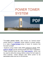 Solar Power Tower System