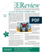 Winter 2008 PEEReview - Public Employees for Environmental Responsibility