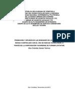 Promoción y Difusión de Las Bondades de Los Deportes de Riesgo Controlado Con El Uso de Nuevas Tecnologías, A Través de La Corporación Tachirense de Turismo (COTATUR)