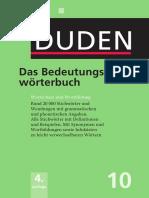 DUDEN - 10_Das Bedeutungswörterbuch