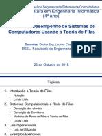 Analise de Desempenho de Sistemas de Computadores Usando a Teoria de Filas 26102015