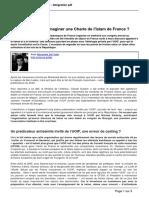 Atlantico.fr - Et s'Il Etait Temps d'Imaginer Une Charte de l'Islam de France - 2012-04-06
