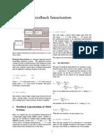 Feedback Linearization - Nonlinear Control