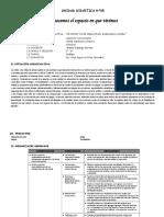 Unidad Didactica de Matematica Primaria SYP_Ccesa007