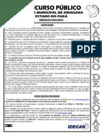 Agente Operacional Legislativo Recepcionista