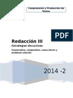 Redacción III- Separata