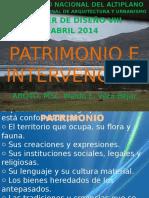 Patrimonio e Intervencion