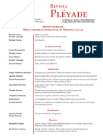 12.-Pleyade-16 El Populismo Como Dimension y Logica de-Riveros