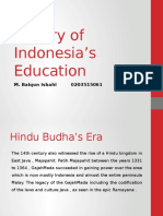 History of Indonesia's Education