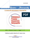 Research Updates Homeopathy by IPRH Vol-5 Issue 2