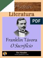 O Sacrificio - Franklin Távora