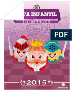 2016-Copa Infantil Por Equipos