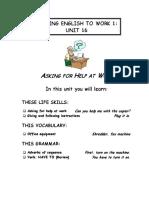 Putting English Unit16