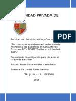 Proyecto de Investigacion Area Salud