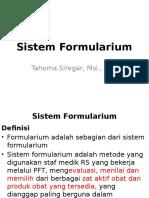 Kuliah 6 Sistem Formularium