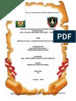 Artículo 2º de La Constitución Política Del Perú