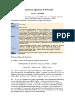 Proyecto de Ley - Fondo para el Ingreso Ciudadano de la Niñez - 2273 D 2010