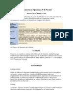 Proyecto de Resolucion - Promover juicio político contra el Jefe de Gabinete de Ministros, Aníbal Domingo Fernández,