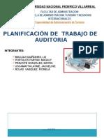 Planificacion de Trabajo de Auditoria