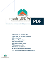 Manual Impresion 3d