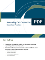 Measuring Call Center Performance