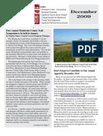 Dec 2009 Mendocino Land Trust Newsletter