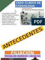 Caso Clinico Sin Diapos de Miky y Meda