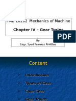 Chapter 04 - Gear Trains