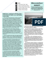 Dec 2007 Mendocino Land Trust Newsletter