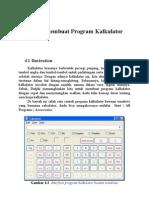 Membuat Program Kalkulator