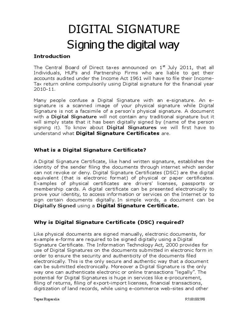 Digital Signature An Article Cryptography Key Cryptography