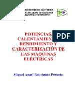 Potencias, Calentamiento y Rendimiento de Máquinas Eléctricas. Código IP