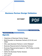 Business Partner Validation