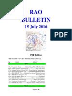 Bulletin 160715 (PDF Edition)