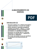 Presentación Introducción Al Almacenamiento de Energía