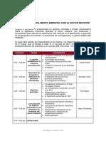 20150717 Programa Seminario Actualización Legislación Ambiental Para El Sector Industria