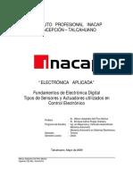 Fundamentos Electronica Digital, Sensores y Actuadores, H Del Pino (Listo)